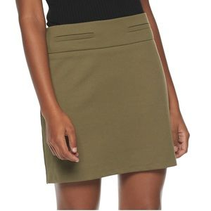 Candies side zip mini skirt